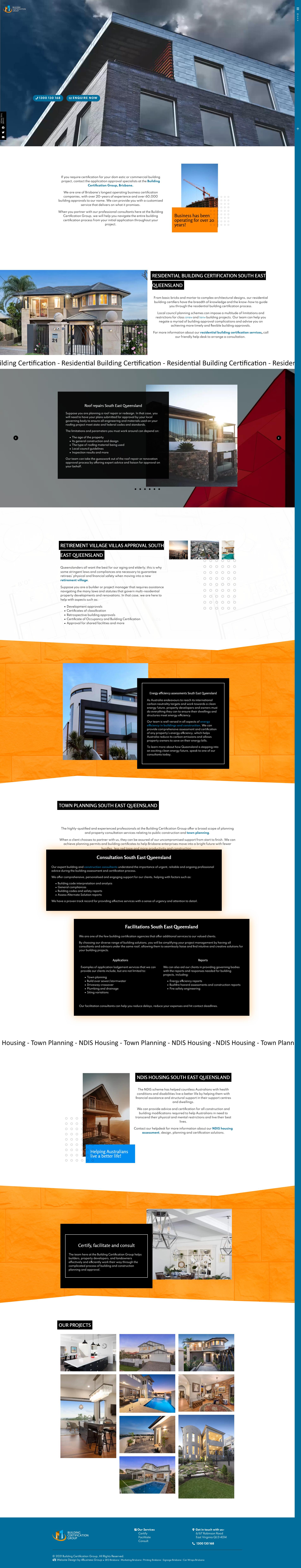 Building Certification Group: Desktop View