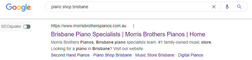 Morris Brothers Piano Gallery ranking proof